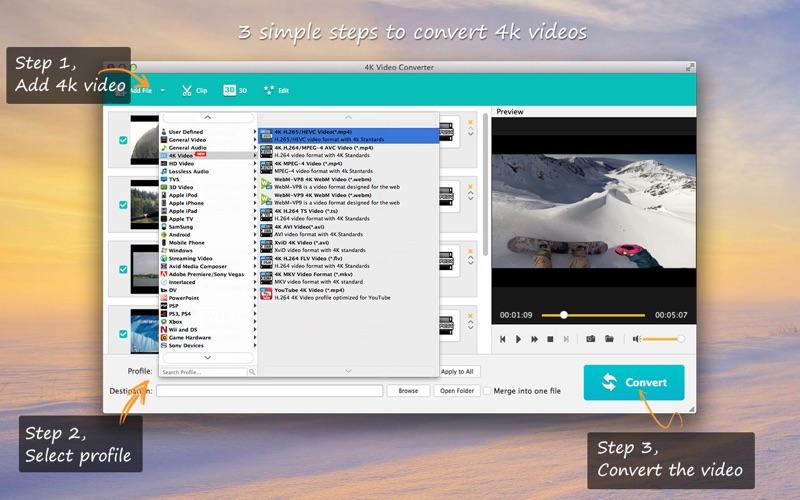 4K Video Converter - 转化成4K高清