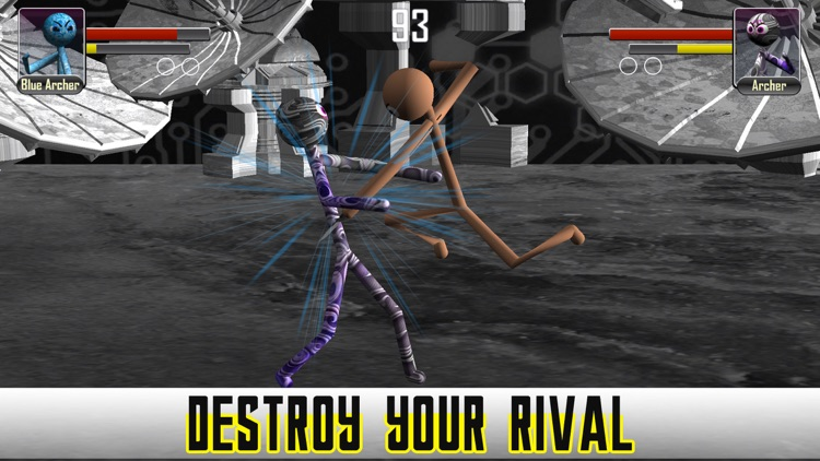 Stickman Fighter Physics 3D