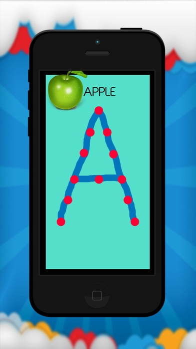 ABC Tracer - Alphabet flashcar screenshot one