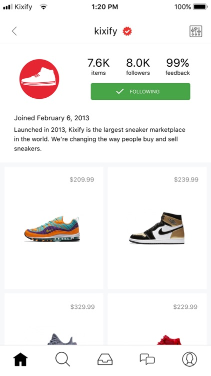 KIXIFY - Buy & Sell Sneakers screenshot-3