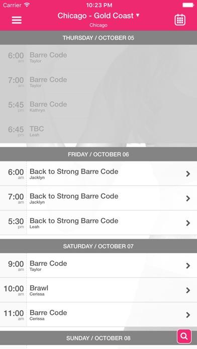 The Barre Code Screenshot
