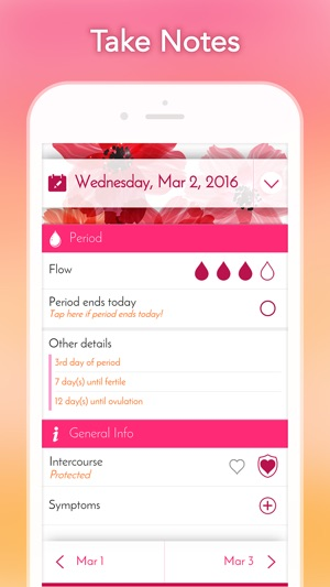 My Calendar - Period Tracker on the App Store