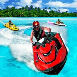 Jet Ski Turbo Boat:Speed Boat