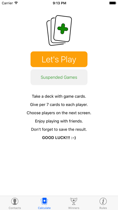 UNOWin App for UNO Card Game screenshot one
