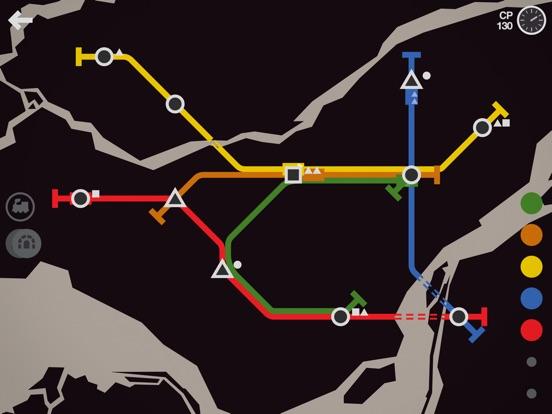 Игра Mini Metro