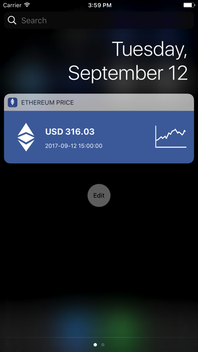 Ethereum Price & Widget