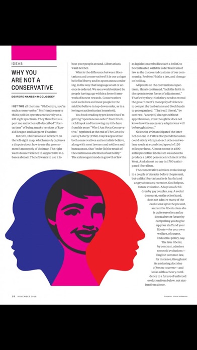 Reason Magazine Screenshot