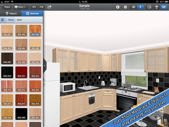Interior Design for iPad Screenshot
