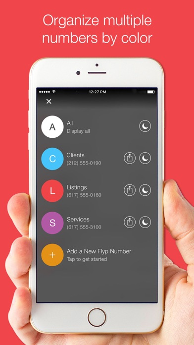 Flyp: Multiple Phone Numbers Screenshot