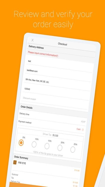 Ordering Food App screenshot-3