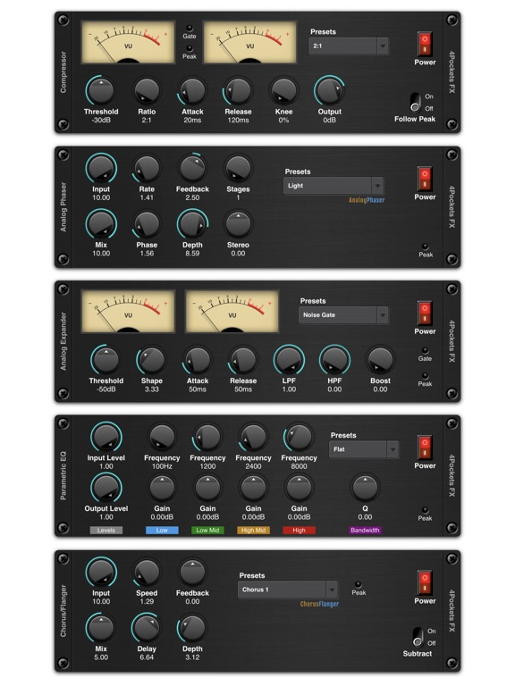 Noise Gate AUv3 Plugin screenshot 7