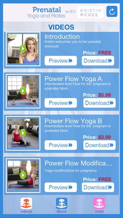 Prenatal Yoga and Pilates