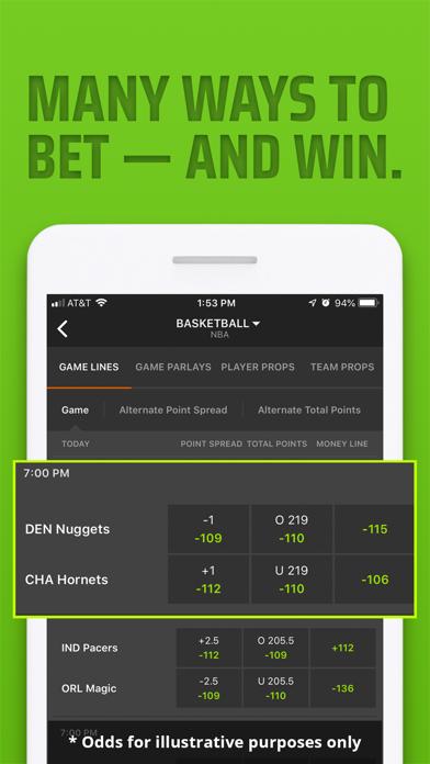 DraftKings Sportsbook & Casino screenshot 7