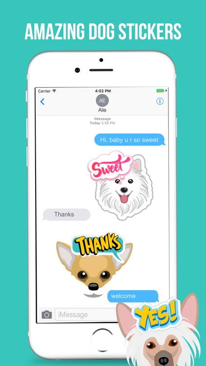 Lovely Dog Stickers Pack screenshot-3