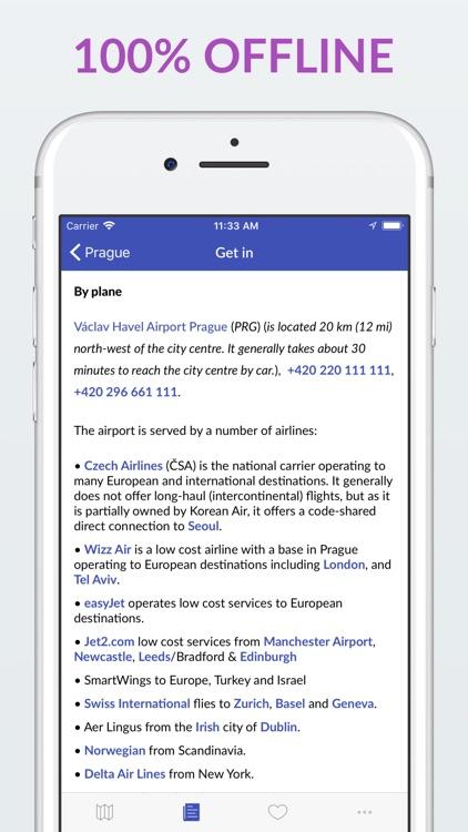 Prague Offline Map & Guide screenshot-4