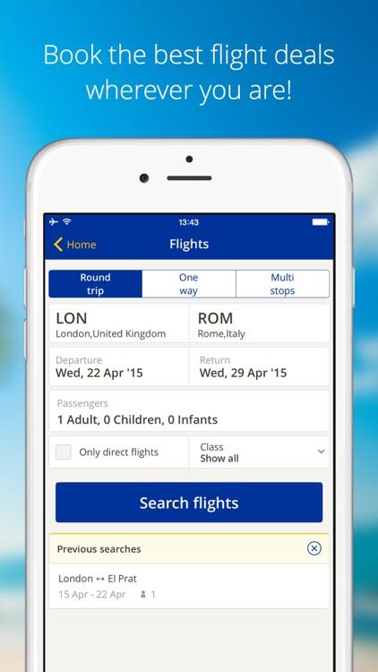 eDreams-Flights, Hotels & Cars