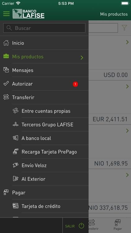 LAFISE Banca Móvil screenshot-4