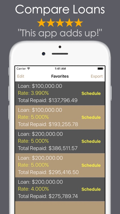 Loan Calculator PRO - Mortgage