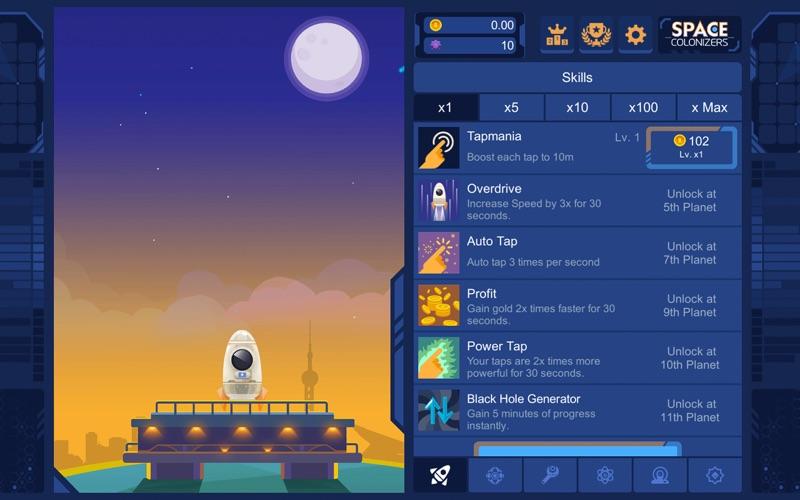 Space Colonizers Idle Clicker | App Price Drops