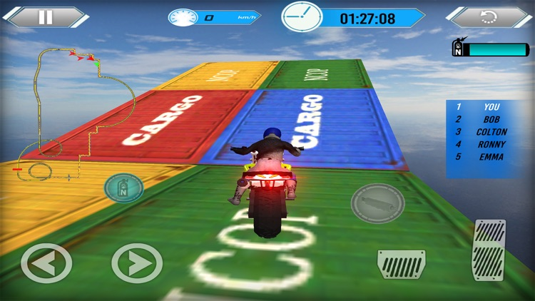 Impossible Track Motor Bike Rider: Stunt Man Race screenshot-4
