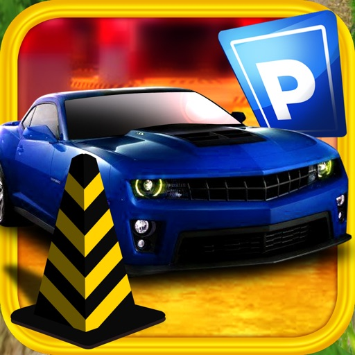 3D Parking Simulator City Mania Game