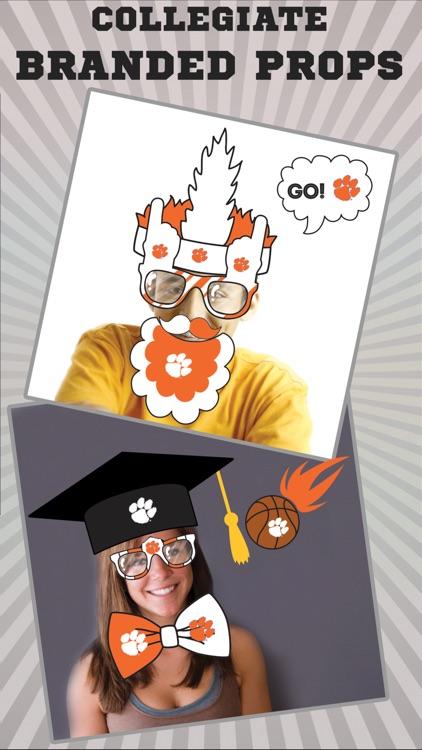 Clemson Tigers PLUS Selfie Stickers