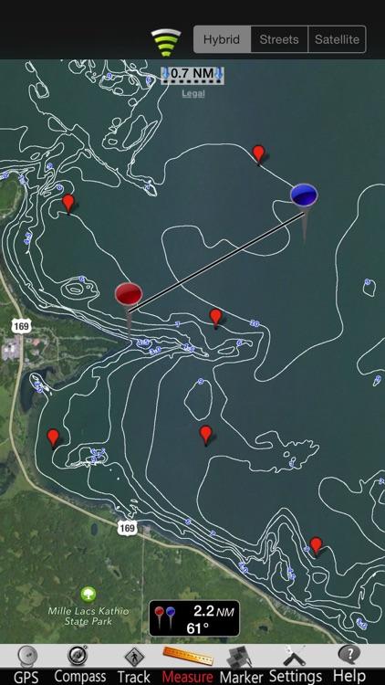 Minnesota Lakes Nautical Chart screenshot-3