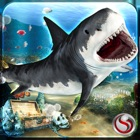 tiburón venganza ataque sim 3D icon