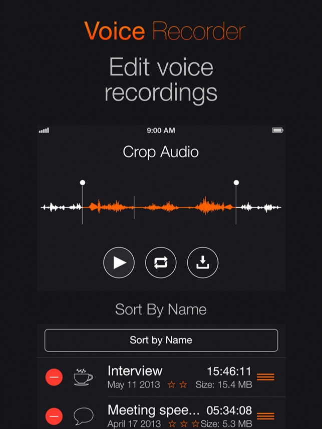 Voice Recorder: Audio record Screenshot