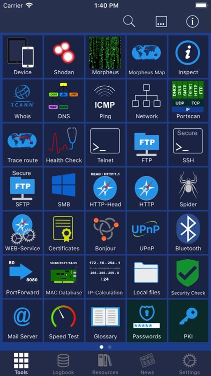NetworkToolbox - Net security screenshot-0