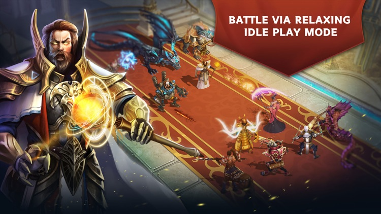 Trials of Heroes: Idle RPG screenshot-0