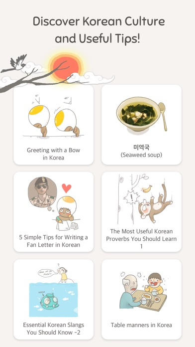 Eggbun: Chat to Learn Korean app image