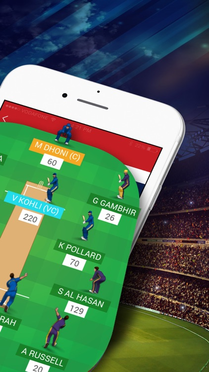 Dream11 Fantasy Sports: Cricket, Kabaddi, Football