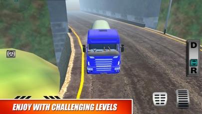 Truck Oil Climb Hill Mission screenshot 3