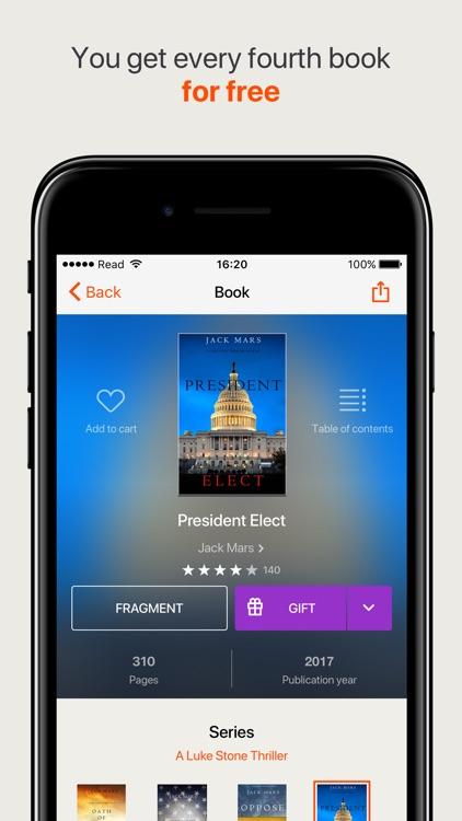 Read the best books, online book reader screenshot-3
