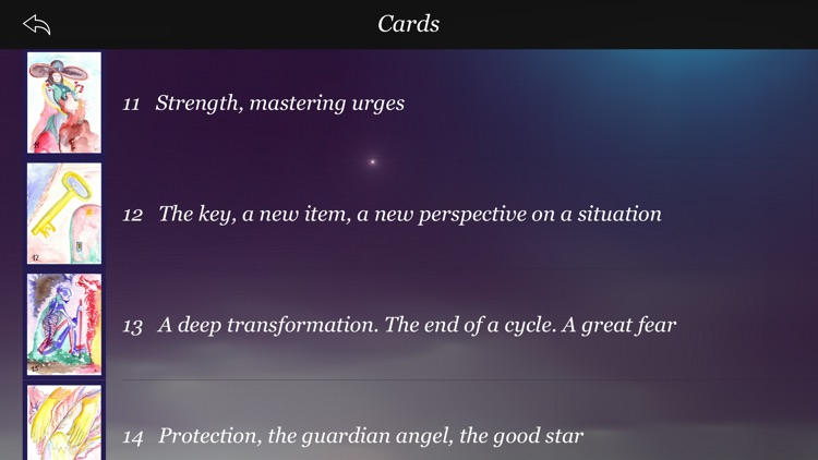 My creative tarot screenshot-4