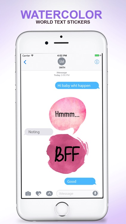 Watercolor - Text Stickers screenshot-3