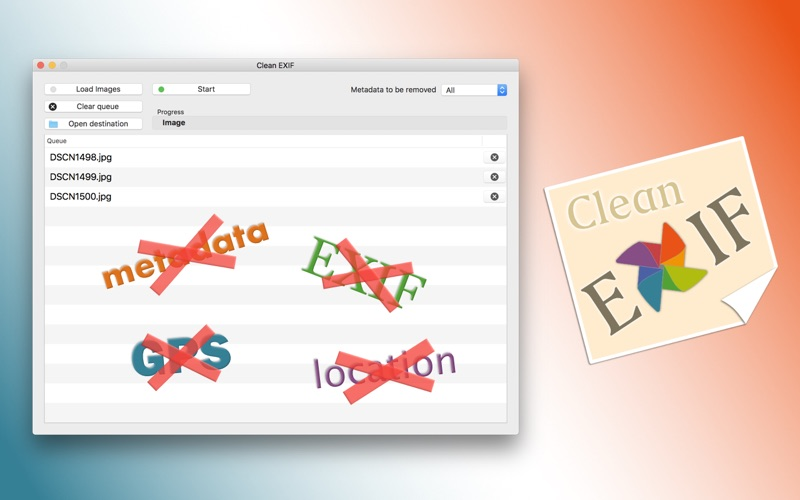 点击获取Clean EXIF - Remove metadata from your photos