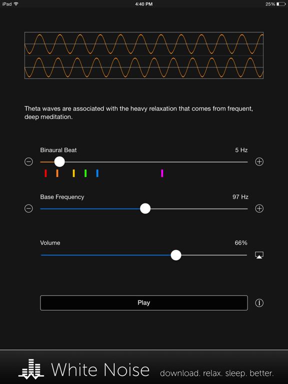 Binaural Beats Generator + screenshot 9