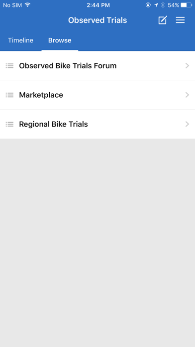 Observed Trials screenshot one