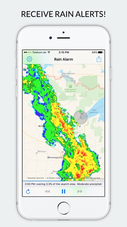 Rain Alarm - Weather Radar screenshot-0