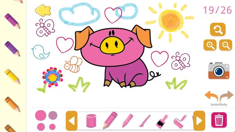Coloring book - game for kids. screenshot-3