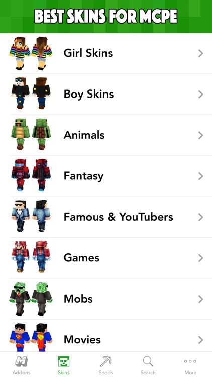 MCPE Planet - Addons, Maps, Skins for Minecraft PE