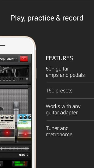 ampkit guitar amps pedals app download android apk. Black Bedroom Furniture Sets. Home Design Ideas