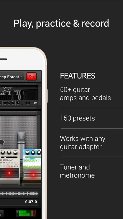 AmpKit+ guitar amps & pedals screenshot-1
