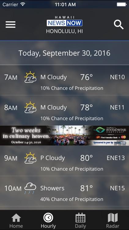 HawaiiNewsNow WeatherNOW screenshot-3