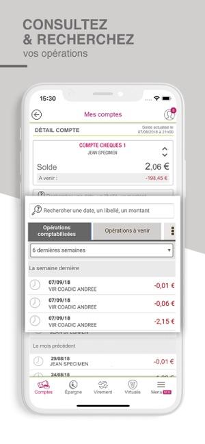 Cmb Suivi De Compte Et Budget Dans L App Store