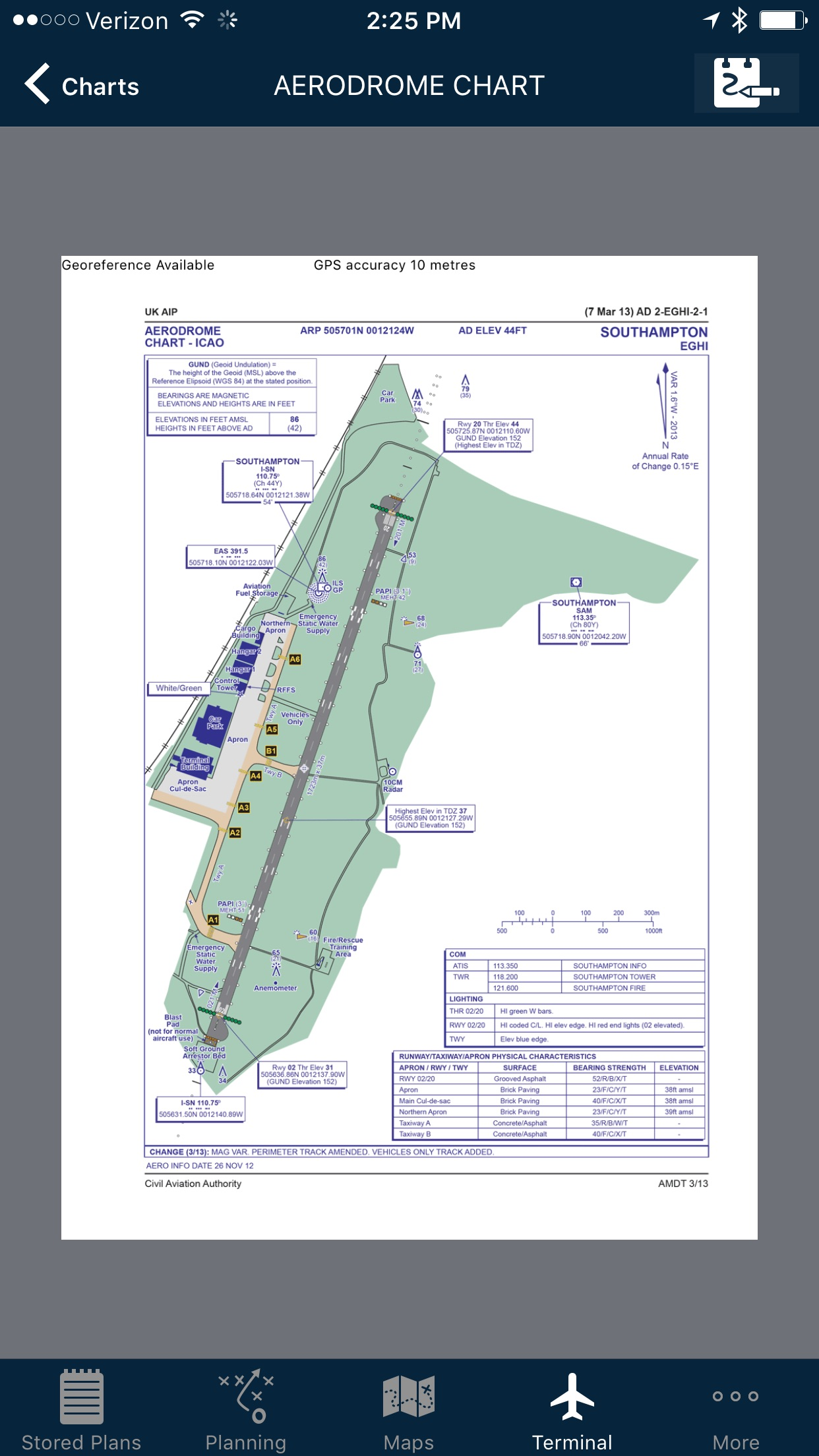 AvPlan EFB Screenshot