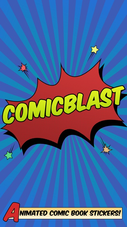 Comic Blast Animated Stickers
