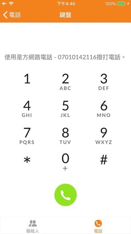 是方網路電話